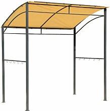 Outsunny® Grillpavillon BBQ-Pavillon 215x150x180/220cm mit Flammschutzdach