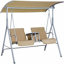 Outsunny® Hollywoodschaukel 2-Sitzer
