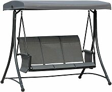 Outsunny® Hollywoodschaukel 3-Sitzer