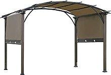 Outsunny Pavillon Pergola mit einstellbarem