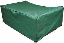 Outsunny UV Regen Schutzhülle für Rattan Möbel Rattan Rattan Garten 205x 145x 70cm
