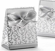 Outtybrave 100 Stück Papier-Geschenk-Box
