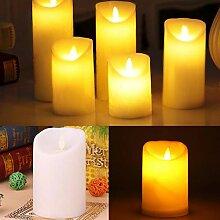Outtybrave Flammenlose Kerze LED Kerzenlampe