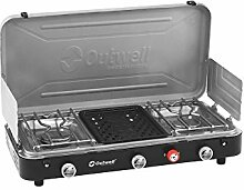 Outwell Chef Herd, Holzofen, 3 Brenner &Grill /