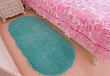Ovale Bett Schlafzimmer Teppich/ Haushalt Tür Decke-D 80x200cm(31x79inch)