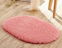 Ovale Teppich Mikrofaser Samt Waschbare