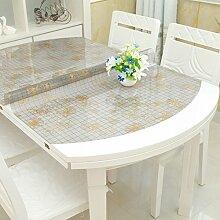 Ovale Tischdecke/Wasserdicht,Öl-beweis,Kunststoff Tischdecken/Tischtuch/PVC,Muster,Vermeiden Sie Ein Bügeleisen/-Brett Mat-K 81x135cm(32x53inch)