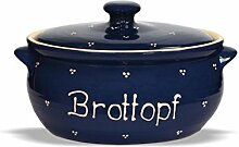 Ovaler Brottopf (klein) 32cm. Carstens-Keramik