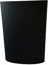 Ovaler Messerblock, schwarz