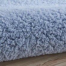 Ovaler zottiger Teppich Teppich mit hohem