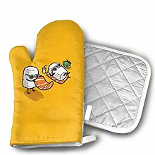 Oven Mitts And Potholders,Lustiges Sushi-Set Mit