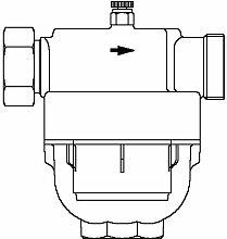 Oventrop Wasserfilter Aquanova Compact Kopfstück Rotguss