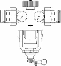 Oventrop Wasserfilter Aquanova Compact R DN 40, 1 1/2