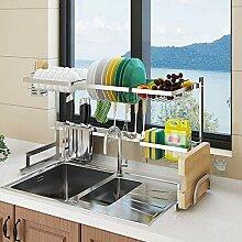 Over Sink Geschirrkorb Küche, Edelstahl