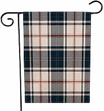 Overlooked Shop Garten-Flagge im Freien blaues und