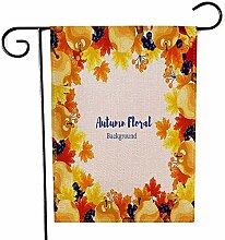 Overlooked Shop Garten-Flaggen-im Freien Autumn