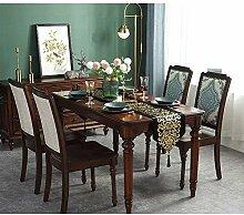 OwarmQ Tischläufer/Tischdecke Luxury Gold Samt