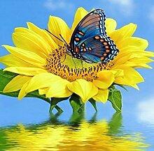 Owdqwg 5D Diamantmalerei DIY Blumen und