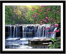 Owdqwg 5D Diamantmalerei Landschaftsmuster Paste