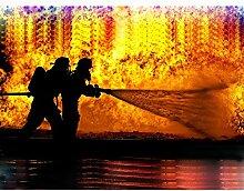 Owdqwg Diamant Malerei DIY Feuerwehr Hand
