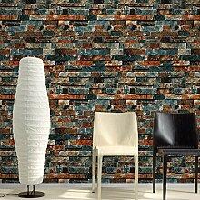 OWIKAR 3d Imitation auf Marmor Tapete Vintage Antik-Stein-Tapete, wasserdicht, mit Stein-Tapete für Wohnzimmer, Schlafzimmer, TV Hintergrund Heimdekoration