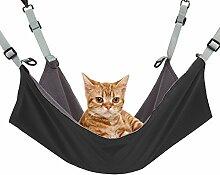 owikar Pet Katze Hängematte aufhängen Käfig Betten wendbar 2Seiten Pet zum Aufhängen mit doppeltem Verwendungszweck Betten 35,6x 35,6cm 53,3x 38,1cm für Katzen kleine Hunde für Sommer Winter