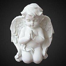 OwMell 2er Set Engelchen Statue Kerzenhalter