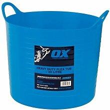 OX p110620Pro Heavy Duty Flexi Badewanne, blau,