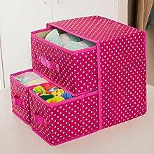 Oxford Tuch Unterwäsche Aufbewahrungsbox Box Sortierbox wasserdichte Schublade Aufbewahrungsbox , #4