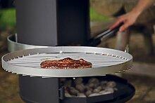 OXNFEIA® Grillrost 50cm Rost aus Edelstahl