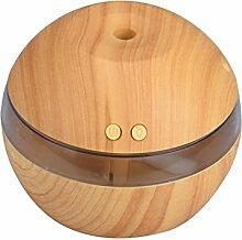 Oyedens Luft Aroma LED Ultraschall Aroma Aromatherapie Luftbefeuchter (Khaki)