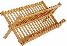 Oyfel. Geschirr-Abtropfgestell aus Bambus,