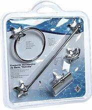 oyma 0839/35 Badezimmer-Accessoires, Stern-Design,
