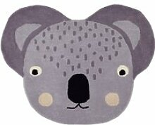OYOY - Kinderteppich, 100 x 85 cm, Koala