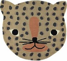 OYOY - Kinderteppich, 84 x 94 cm, Leopard