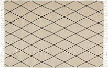 OYOY - Mino Teppich, 190 x 130 cm, offwhite /
