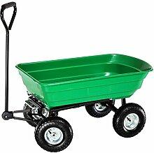 Oypla Heavy Duty Green Gartenwagen mit Kipp Barrow