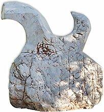 Ozeanfindling Findling Skulptur Naturstein