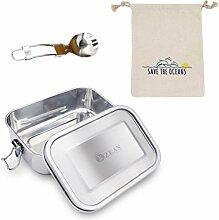 OzeanKonzept Edelstahl Brotdose | Lunchbox