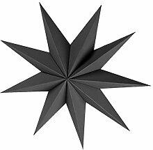 P Prettyia 9 Zacken Sterne Papierstern Hängende
