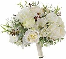 P Prettyia Romantische Blumenstrauß Rosen Strauß
