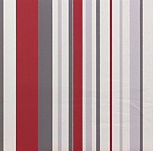 P+S Tapete HAPPY TIME Vliestapete 1312230 13122-30 Streifen rot grau