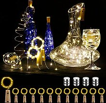 P12cheng Weinflaschenstopfen mit 20 LEDs, 12