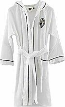 P208 Bademantel Juve Juventus in Mikrofrottee -