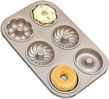Paar Durable Cupcake Donut Backform, Antihaft-Hohl