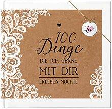 Paargeschenk 100 Dinge Buch Geschenk Hochzeitstag