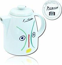 Pablo Picasso Porzellan Teekanne Kaffeekanne Kanne