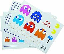 Pac Man Gadget Aufkleber Kühlschrank Aufkleber, mehrfarbig