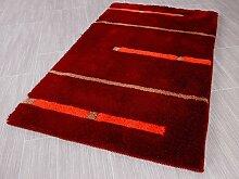 Pacific Badteppich Kabara Rot Streifen in 5