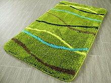 Pacific Badteppich Nevis Grün Streifen in 5